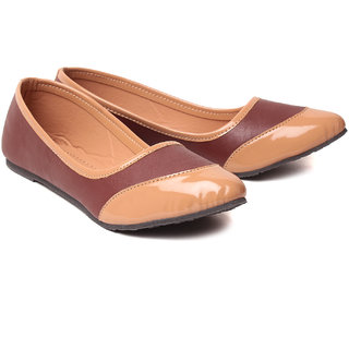 Aleta Women's Brown & Tan Bellies