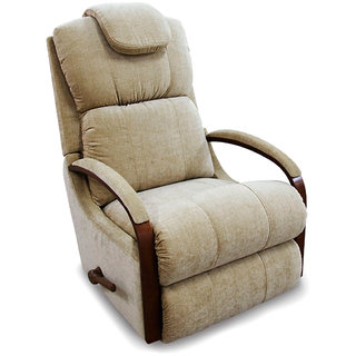 La-Z-Boy Recliner with Beige Fabric Cover - Harbor Town