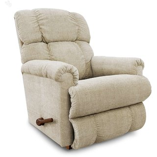 La-Z-Boy Recliner with Ivory Fabric Cover - Pinnacle