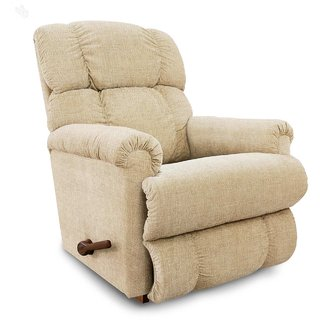 La-Z-Boy Recliner with Cream Fabric Cover - Pinnacle