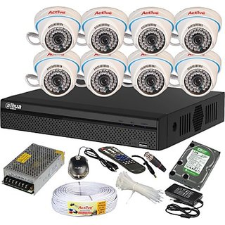 Dvr System 8 Channel Home Security