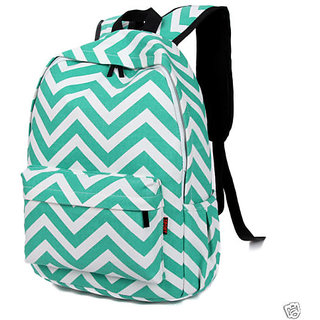 72bc8ef699 Buy Aeoss Preppy Style Women Backpack Bags Double-Shoulder Sweet Stripe  Canvas Travel Bag(A261green) Online - Get 45% Off