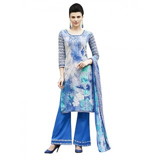 Sareemall Multicolor Cotton Printed Salwar Suit Dress Material (Unstitched)