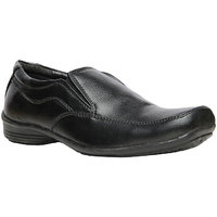 Bata MenS King Black Formal Slip On Shoes