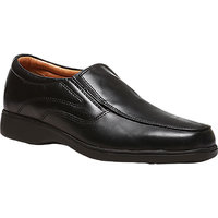 Bata MenS Jackson Black Formal Slip On Shoes