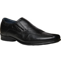 Bata MenS Mint Black Formal Slip On Shoes