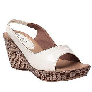 Msc White WomenS Heels