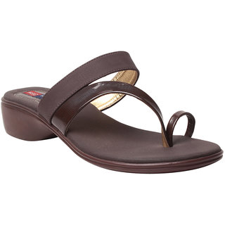 MSC Women's Brown Flats