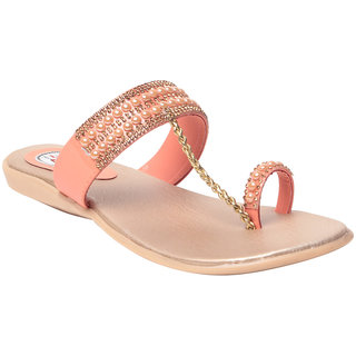 MSC Women's Peach Flats
