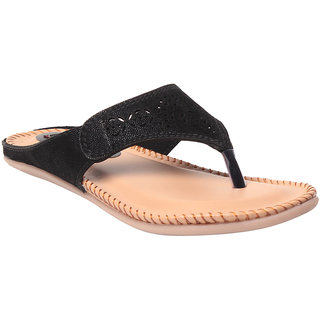 MSC Women's Black Flats