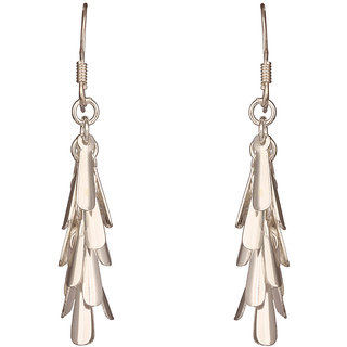 Mirror White 925 Sterling Silver White Feather Drops (MWSS229)
