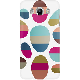The Fappy Store The Rounded Eclipses Patterns Graphic Mobile Back Cover