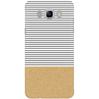 The Fappy Store Minimal Gold Glitter Stripes1 Mobile Back Cover