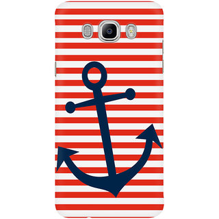 The Fappy Store Nautical Anchor Mobile Back Cover