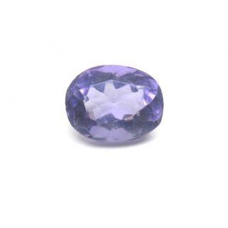 4.75 Ratti 4.3 Ct Oval Shape Natural Amethyst Katella Loose Gemstone For Ring  Pendant