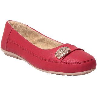 Msc Red WomenS Flats