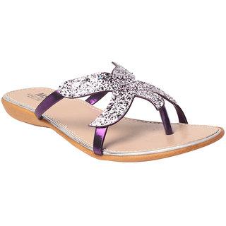 MSC Women's Purple Flats