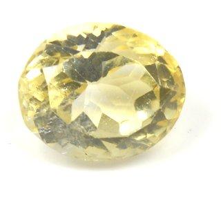 6.75 Ratti 6.1 Ct Oval Shape Natural Yellow Citrine Sunella Loose Gemstone For Ring  Pendant