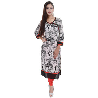 Beautiful  Cotton Printed Multicolor Kurti From the House of  Palakh