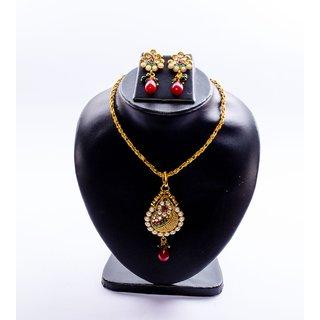 Tasha Antique Necklace Set With Tops