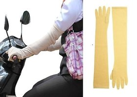 Fitwell Unisex Long Sleeves  24 Driving Gloves