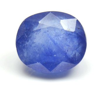 3.25 Ratti 3 Ct Oval Shape Natural Blue Sapphire Neelam Loose Gemstone For Ring  Pendant