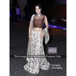 KMOZI Amisha Chocklaty Designer Lengha Choli