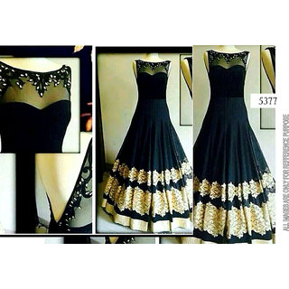The Georgette Black fab Gowns