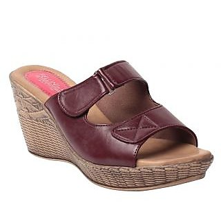 Msc Maroon WomenS Heel
