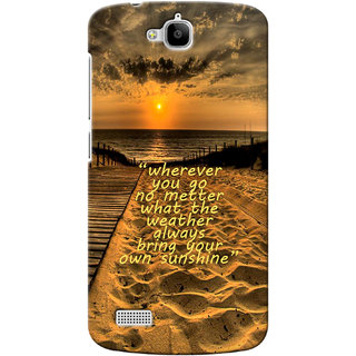 G.store Printed Back Covers for Huawei Honor Holly Brown 13326