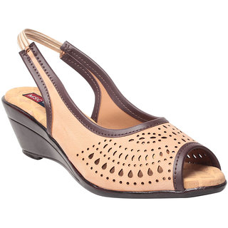 Msc Beige WomenS Heels