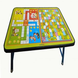 kangroo 2 IN 1 multipurpose ludo board with heavy duty iron frame