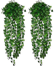 Futaba Artificial Ivy Leaf Garland Plants - Pack of Two