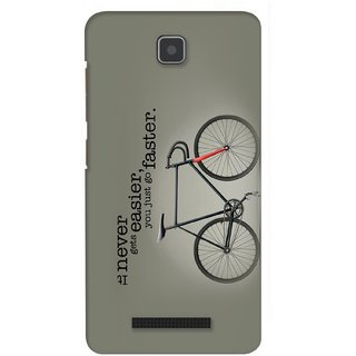 G.store Printed Back Covers for Lenovo A1900 Grey 23311