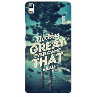 G.store Printed Back Covers for Lenovo A7000 Green 13986