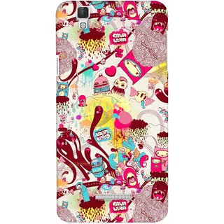 G.store Printed Back Covers for Coolpad Dazen F2 Multi 22570