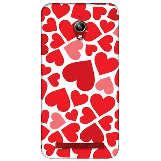 G.store Printed Back Covers for Asus ZenFone Go Red 26563