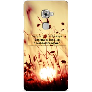 G.store Printed Back Covers for Huawei Mate S Brown 23028