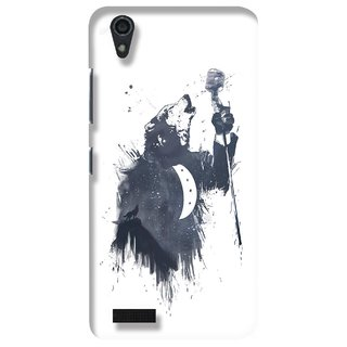 G.store Printed Back Covers for Lenovo A3900 White 23414