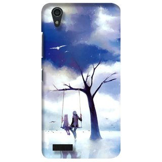 G.store Printed Back Covers for Lenovo A3900 Blue 23452