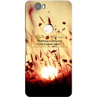 G.store Printed Back Covers for Huawei Nexus 6P Brown 26628