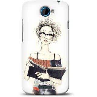G.store Printed Back Covers for HTC One S White 12142