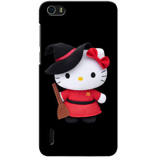 G.store Printed Back Covers for Huawei Honor 6 Black 12978
