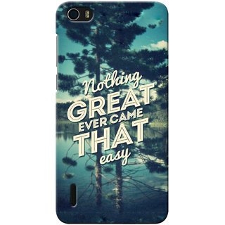 G.store Printed Back Covers for Huawei Honor 6 Green 12986