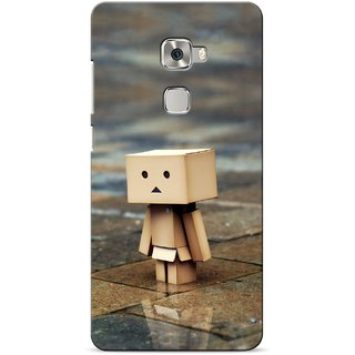 G.store Printed Back Covers for Huawei Mate S Brown 23037