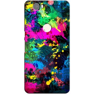G.store Printed Back Covers for Huawei Nexus 6P Multi 26634