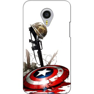 G.store Printed Back Covers for Meizu MX4 Pro Red 27084