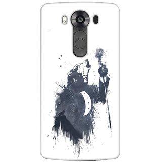 G.store Printed Back Covers for LG V10 White 23714
