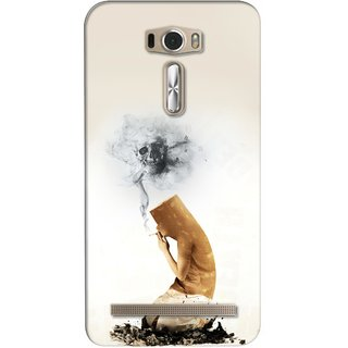 G.store Printed Back Covers for Asus ZenFone 2 Laser (ZE601KL) White 26459