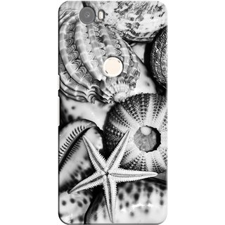 G.store Printed Back Covers for Huawei Nexus 6P White 26688